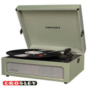 Ebay Record Player >> New Crosley Cr8017a Sa 3 Speed Voyager Portable Record Player