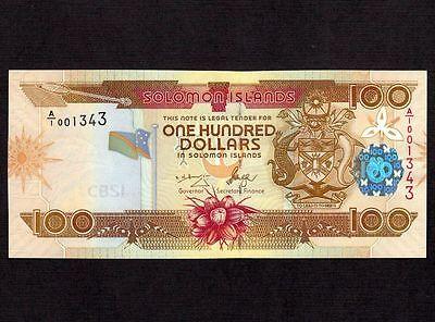 Australia & Oceania Diplomatic Solomon Islands 100 Dollars 2006 P-30 South Pacific Unc *