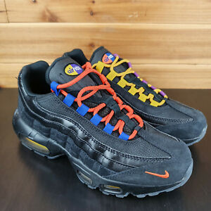 Nike-Air-Max-95-PRM-LA-vs-NYC-Black-Rush-Blue-AT8505-001-Sz-Mens-Shoes