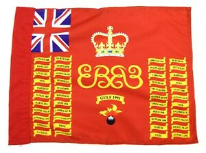 Grenadier guards 1st battalion I Company Regimental colours flag