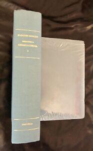 Jo-Jacobi-Mangeti-Bibliotheca-chemica-curiosa-Due-tomi-Forni-1976-C-nuovi