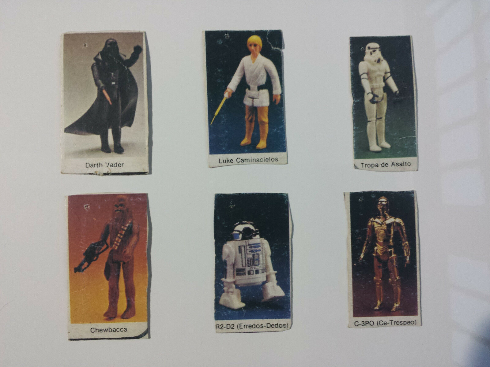 Star Wars - Vintage Cuts of Spanish Adgreenisement Luke Caminacielos Ce-Trespeo