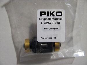 Piko-52570-228-Ersatzteil-Motor-komplett-fuer-BR-118-BR118-GFK-Spur-H0-NEUWARE