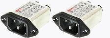 2 Pack Noise Filter, AC Line 10A, 250VAC, IEC Input            31918 FL