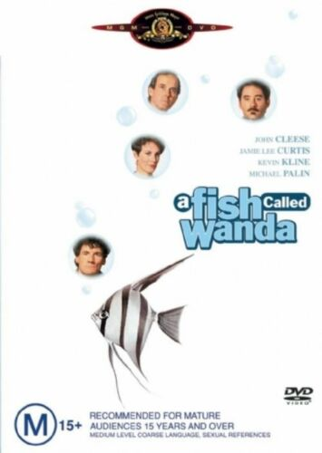 1 of 1 - A Fish Called Wanda..SINGLE DISC EDTN..JOHN CLEESE...REG 4...NEW & SEALED