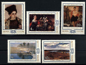 9561-RUSSIA-1983-PAINTINGS-MNH