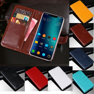 Details about For Elephone A5 A4 P8 Max Mini S8 C1 M2 S7 Magnetic Slim  Leather Flip Case Cover