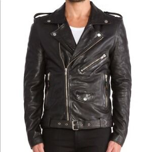 47095fbfce BLK DNM Leather Jacket 5 Medium Black Great condition Motorcycle ...