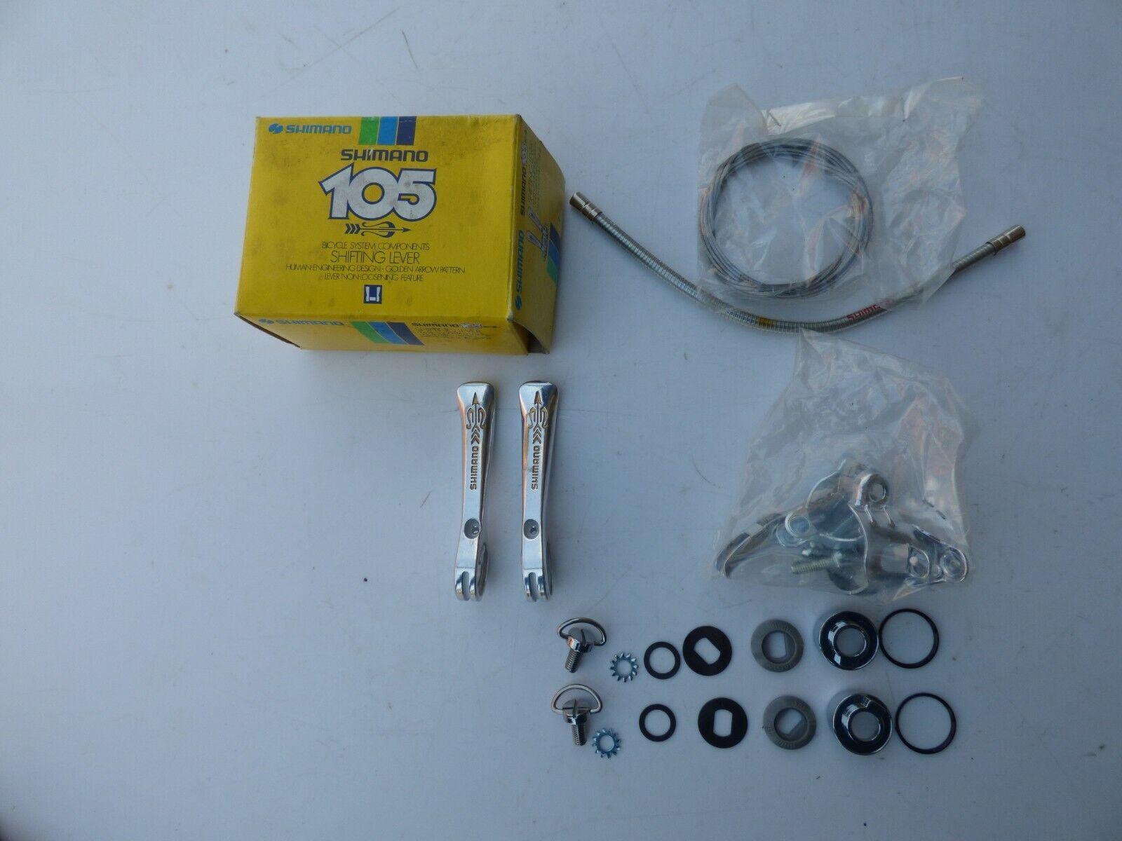 SHIMANO 105 SL-A105FA oroEN ARROW BRAZE-ON SHIFTING LEVERS  - NOS - NIB  más vendido
