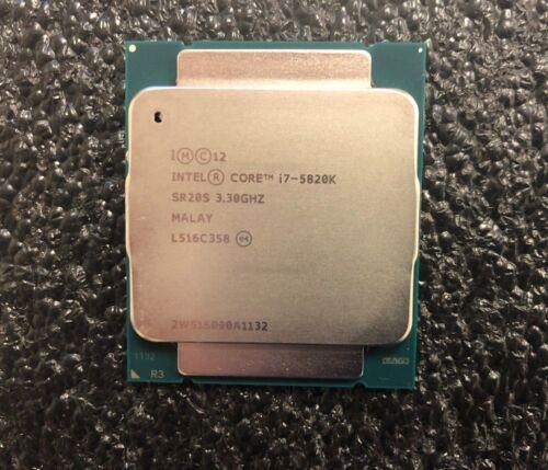 Intel Core i7-5820K 3.3GHz Six Core LGA 2011-v3 140W Desktop Processor