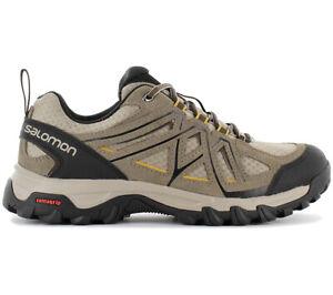 1188c4dca Details about Salomon Evasion 2 Aero Men's Hiking Shoes 393599 Beige  Trekking Shoes New