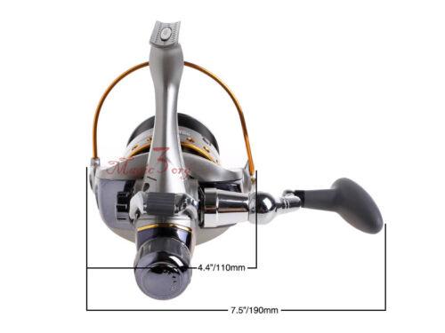 YOSHIKAWA Baitfeeder Fishing Spinning Reel Saltwater//Freshwater Offshore Bass 11