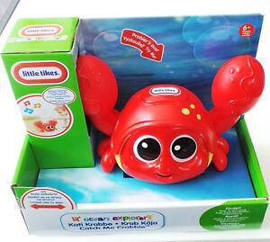 GüNstiger Verkauf Kati Krabbe Little Tikes Neu Bewegung Sensor Sound Motorik Rot Baby 6m Motorik 63851gr Zu Den Ersten äHnlichen Produkten ZäHlen