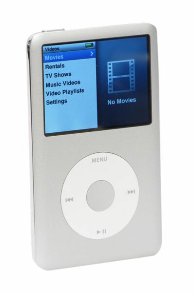 apple ipod classic 6 generation silber 160gb. Black Bedroom Furniture Sets. Home Design Ideas