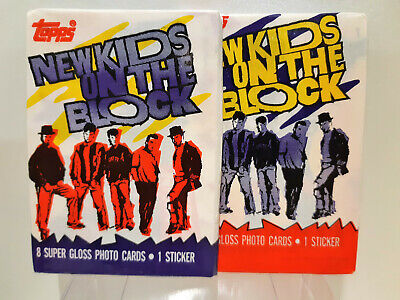 New Kids on the Block trading cards 3 packs