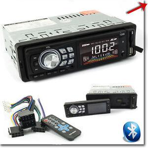 AUTORADIO-STEREO-BLUETOOTH-USB-SD-AUX-FRONTALINO-ESTRAIBILE
