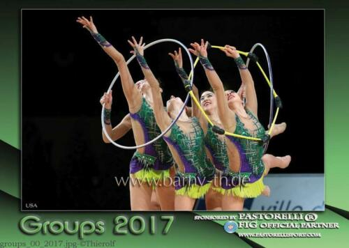 Toller RSG FOTOKALENDER 2017 Rhythmische Sport Gymnastik KALENDER Gruppe A4 NEU!