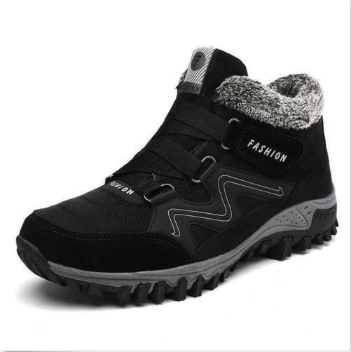 Uomini donne inverno peloso e alte scarpe da trekking trekking trekking a lavorare gli stivaletti e sz y 5767f9