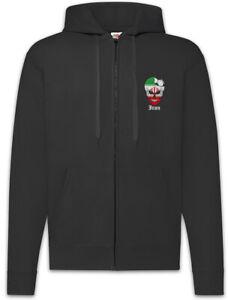 Iran-Football-Skull-I-Zipper-Hoodie-iranische-Soccer-Flagge-Banner-Fussball