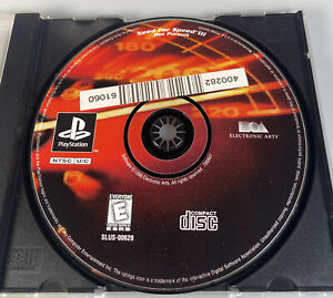 Need For Speed 3 Hot Pursuit Sony Playstation One PS1 Game Disc Only