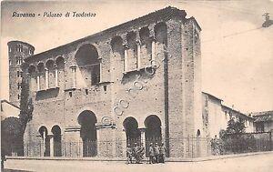 Cartolina-Postcard-Ravenna-Palazzo-di-Teodorico-anni-039-40
