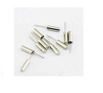 10pcs Crystals 2X6 Cylindrical (12MHz) Crystal Quartz crystal 12m