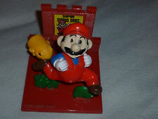 VINTAGE NINTENDO TROPHY FIGURE SUPER MARIO BROS RUNS FROM BULLET BILL 1988 RARE