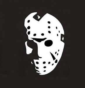 Garage door clip art - 6 Quot Jason Voorhees Halloween Horror Decal Sticker Ebay