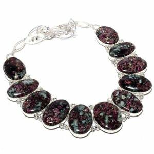 Eudialyte-Gemstone-Handmade-925-Sterling-Silver-Necklace-18-034