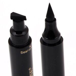 Waterproof-Winged-Eyeliner-Stamp-Makeup-Cosmetic-Eye-Liner-Pencil-Black-Liquid