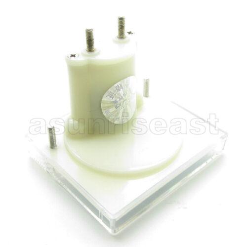 1 × DC 2 A Analog Panel AMP Courant Meter Ampèremètre Gauge 85C1 BLANC 0-2 A DC