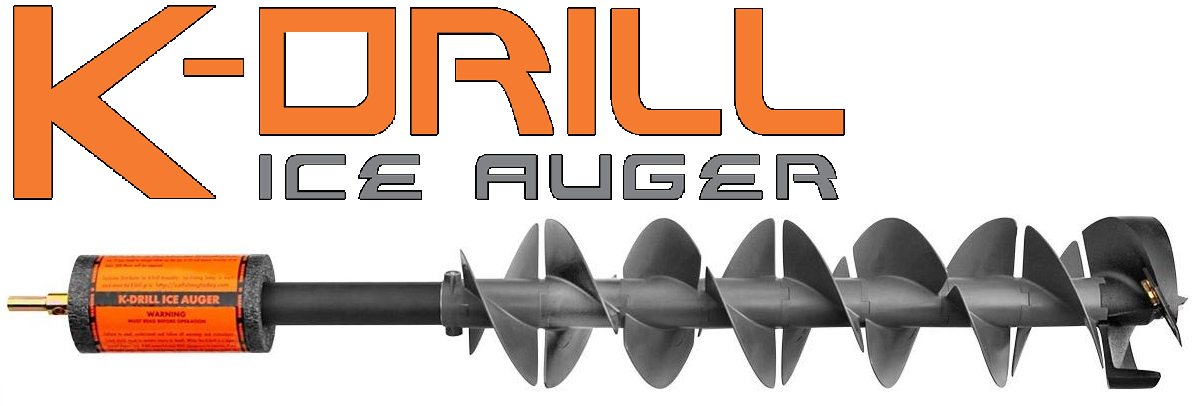 """NEW K DRILL 8.5/"""" ICE AUGER ONLY IDRL85"""