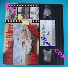 film VHS cartonata LE ARMI DEL FUHRER Tiger 1 HOBBY & WORK ADF 001 (F95) no dvd