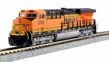 """Kato 176-8925, N Scale, GE ES44AC BNSF #5785 """"Swoosh"""" Diesel Locomotive, 1768925"""