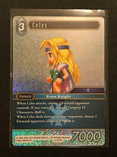 Final Fantasy TCG Celes 8-037R Ice Opus 8