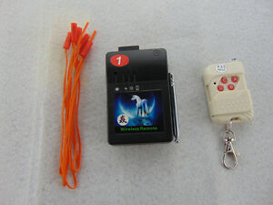 5set 1 Cues wedding Remote Electric igniter family using fireworks firing system
