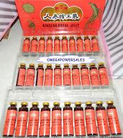 Ginseng Royal Jelly Extract Extra Strength Energy Endurance 1 Box 2000mg