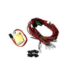 RC Turnigy LED luci di navigazione per RC Aereo Elicottero QUAD Tri NOTTE Ricevitore