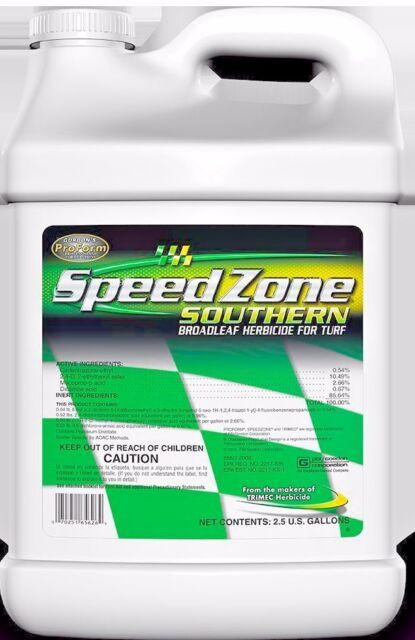 Speed Zone Broadleaf Herbicide For Turf 2 5 Gallons For Sale Online Ebay