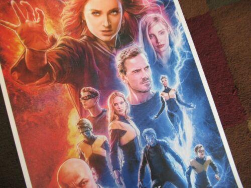"T3 - B2G1F Movie Collector/'s Poster Print 11/"" x 17/"" Dark Phoenix"