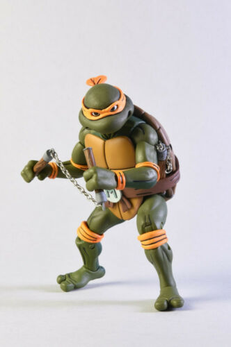 Michel-Ange VS foot Solide 2-Pack Teenage Mutant Ninja Turtles TMNT figurine Neca