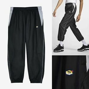 Nike-NikeLab-TN-Tuned-Air-Track-Pants-Black-Mens-AR5858-010-Size-Small-or-XL-NEW