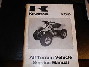 kawasaki 2003 kfx80 service manual pn 99924 1296 01 ebay rh ebay com KFX 80 Forum 2006 Kfx 80