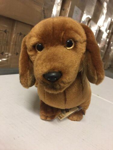 Webkinz Signature Miniature Dachshund Soft Plush Animal With Online Code Ganz
