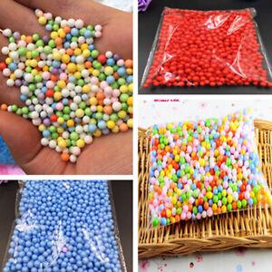 Assorted Colors Polystyrene Styrofoam Filler Foam Mini Beads Balls Crafts HOT!!