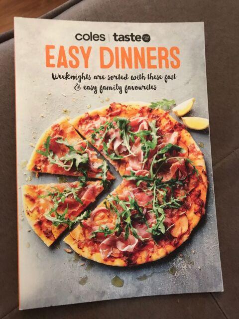 Coles/ Taste Easy Dinners Mini Cookbook