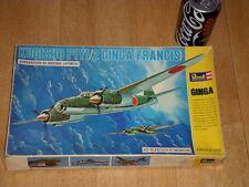 WW#2, JAPAN KUGISHO P1Y1/2 GINGA (FRANCIS), BOMBER PLANE, Scale: 1/72