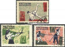 Vietnam 438-440 (kompl.Ausg.) gestempelt 1966 Nationale Sportspiele EUR 1,50