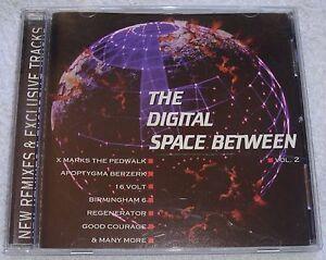 RARE-Digital-Space-Between-Vol-2-16-tk-Compilation-CD-Exclus-tks-1995-EBM-Goth