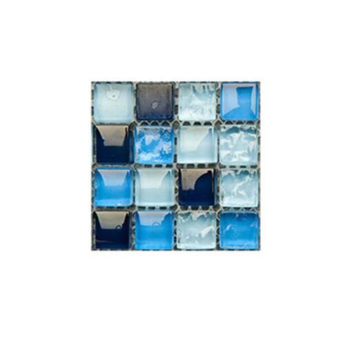 10//30X Kitchen Tile Stickers Bathroom Mosaic Sticker Wall Decors Self-adhesive f